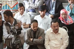 فعالية احياء الذكرى الـ15 لرحيل البردوني التي احيتها جبهة الانقاذ في بيت الثقافة بصنعاء (88)