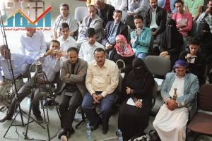 فعالية احياء الذكرى الـ15 لرحيل البردوني التي احيتها جبهة الانقاذ في بيت الثقافة بصنعاء (93)