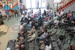 فعالية احياء الذكرى الـ15 لرحيل البردوني التي احيتها جبهة الانقاذ في بيت الثقافة بصنعاء (94)