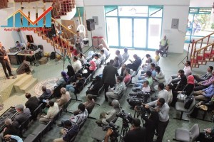 فعالية احياء الذكرى الـ15 لرحيل البردوني التي احيتها جبهة الانقاذ في بيت الثقافة بصنعاء (97)