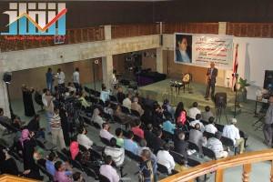 فعالية احياء الذكرى الـ15 لرحيل البردوني التي احيتها جبهة الانقاذ في بيت الثقافة بصنعاء (98)