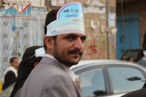 مسيرة انتهاء المهلة وبدء التصعيد الثوري التي انطلقت عصر اليوم 21فبراير من ساحة التغيير بصنعاء (105)