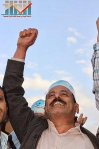 مسيرة انتهاء المهلة وبدء التصعيد الثوري التي انطلقت عصر اليوم 21فبراير من ساحة التغيير بصنعاء (113)