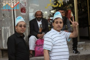 مسيرة انتهاء المهلة وبدء التصعيد الثوري التي انطلقت عصر اليوم 21فبراير من ساحة التغيير بصنعاء (116)