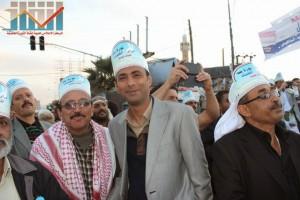 مسيرة انتهاء المهلة وبدء التصعيد الثوري التي انطلقت عصر اليوم 21فبراير من ساحة التغيير بصنعاء (138)