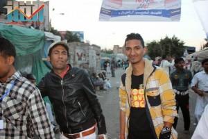 مسيرة انتهاء المهلة وبدء التصعيد الثوري التي انطلقت عصر اليوم 21فبراير من ساحة التغيير بصنعاء (144)