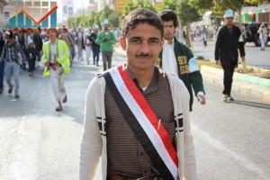 مسيرة انتهاء المهلة وبدء التصعيد الثوري التي انطلقت عصر اليوم 21فبراير من ساحة التغيير بصنعاء (21)