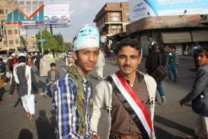 مسيرة انتهاء المهلة وبدء التصعيد الثوري التي انطلقت عصر اليوم 21فبراير من ساحة التغيير بصنعاء (22)