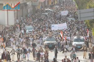 مسيرة انتهاء المهلة وبدء التصعيد الثوري التي انطلقت عصر اليوم 21فبراير من ساحة التغيير بصنعاء (25)