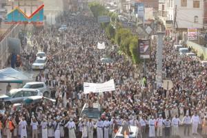 مسيرة انتهاء المهلة وبدء التصعيد الثوري التي انطلقت عصر اليوم 21فبراير من ساحة التغيير بصنعاء (34)