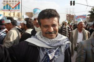 مسيرة انتهاء المهلة وبدء التصعيد الثوري التي انطلقت عصر اليوم 21فبراير من ساحة التغيير بصنعاء (4)