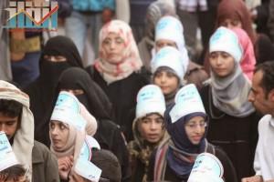 مسيرة انتهاء المهلة وبدء التصعيد الثوري التي انطلقت عصر اليوم 21فبراير من ساحة التغيير بصنعاء (64)