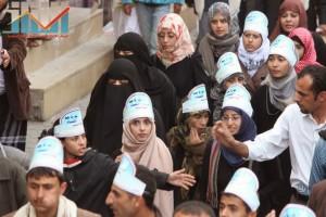 مسيرة انتهاء المهلة وبدء التصعيد الثوري التي انطلقت عصر اليوم 21فبراير من ساحة التغيير بصنعاء (65)