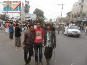 مسيرة حاشدة بصنعاء تطالب بإسقاط رموز الفساد وتأييدا للجيش في حربه ضد القاعدة (1)