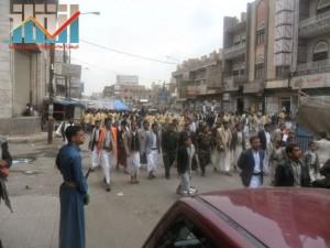مسيرة حاشدة بصنعاء تطالب بإسقاط رموز الفساد وتأييدا للجيش في حربه ضد القاعدة (13)