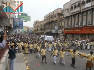 مسيرة حاشدة بصنعاء تطالب بإسقاط رموز الفساد وتأييدا للجيش في حربه ضد القاعدة (22)