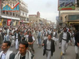 مسيرة حاشدة بصنعاء تطالب بإسقاط رموز الفساد وتأييدا للجيش في حربه ضد القاعدة (34)