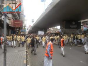 مسيرة حاشدة بصنعاء تطالب بإسقاط رموز الفساد وتأييدا للجيش في حربه ضد القاعدة (45)