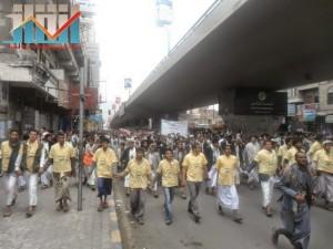 مسيرة حاشدة بصنعاء تطالب بإسقاط رموز الفساد وتأييدا للجيش في حربه ضد القاعدة (46)