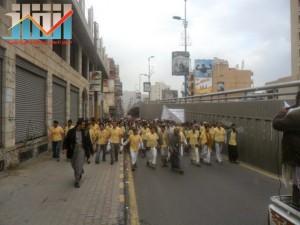 مسيرة حاشدة بصنعاء تطالب بإسقاط رموز الفساد وتأييدا للجيش في حربه ضد القاعدة (47)