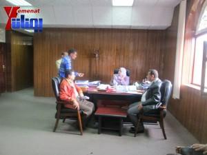 هيئة الظل الشعبية بجبهة الانقاذ تزور هيئة مكافحة الفساد لمتابعة اجراءات الهيئة في تقارير فساد سلمت لها قبل أكثر من عام (10)