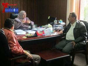 هيئة الظل الشعبية بجبهة الانقاذ تزور هيئة مكافحة الفساد لمتابعة اجراءات الهيئة في تقارير فساد سلمت لها قبل أكثر من عام (14)