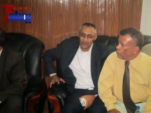 هيئة الظل الشعبية بجبهة الانقاذ تزور هيئة مكافحة الفساد لمتابعة اجراءات الهيئة في تقارير فساد سلمت لها قبل أكثر من عام (17)