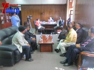 هيئة الظل الشعبية بجبهة الانقاذ تزور هيئة مكافحة الفساد لمتابعة اجراءات الهيئة في تقارير فساد سلمت لها قبل أكثر من عام (23)