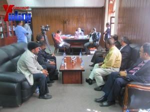 هيئة الظل الشعبية بجبهة الانقاذ تزور هيئة مكافحة الفساد لمتابعة اجراءات الهيئة في تقارير فساد سلمت لها قبل أكثر من عام (24)