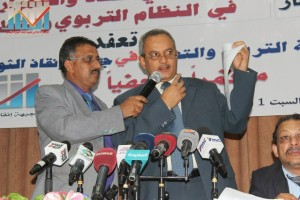 المؤتمر الصحفي للجنة التربية و التعليم في جبهة إنقاذ الثورة عن فساد و أخونة التعليم (24)