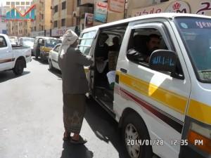 تفاعل كبير من المواطنين مع حملة 11 فبراير بصنعاء (22)