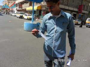 تفاعل كبير من المواطنين مع حملة 11 فبراير بصنعاء (26)