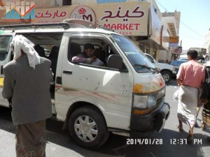 تفاعل كبير من المواطنين مع حملة 11 فبراير بصنعاء (30)