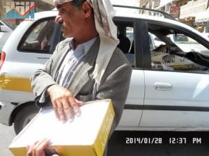 تفاعل كبير من المواطنين مع حملة 11 فبراير بصنعاء (34)