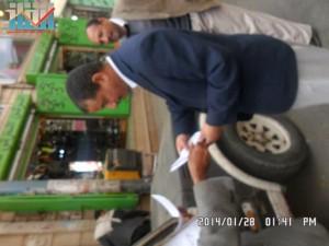 تفاعل كبير من المواطنين مع حملة 11 فبراير بصنعاء (43)