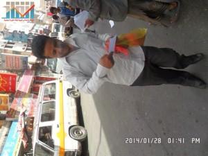 تفاعل كبير من المواطنين مع حملة 11 فبراير بصنعاء (44)