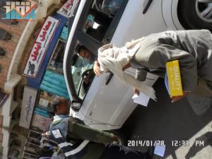 تفاعل كبير من المواطنين مع حملة 11 فبراير بصنعاء (7)