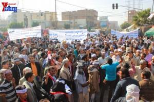 حملة 11 فبراير تخرج مسيرة حاشدة من ساحة التغيير بصنعاء تطالب باقالة و حاسبة حكومة الوفاق (10)