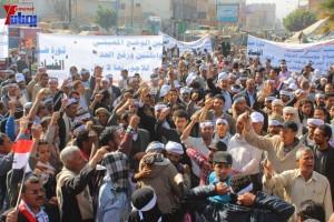 حملة 11 فبراير تخرج مسيرة حاشدة من ساحة التغيير بصنعاء تطالب باقالة و حاسبة حكومة الوفاق (11)
