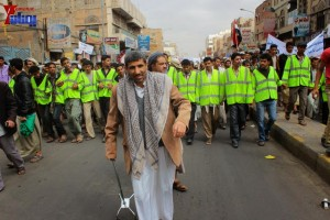 حملة 11 فبراير تخرج مسيرة حاشدة من ساحة التغيير بصنعاء تطالب باقالة و حاسبة حكومة الوفاق (136)