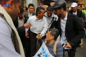 حملة 11 فبراير تخرج مسيرة حاشدة من ساحة التغيير بصنعاء تطالب باقالة و حاسبة حكومة الوفاق (137)