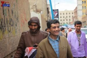 حملة 11 فبراير تخرج مسيرة حاشدة من ساحة التغيير بصنعاء تطالب باقالة و حاسبة حكومة الوفاق (144)