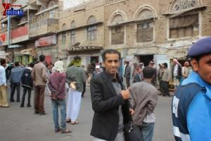 حملة 11 فبراير تخرج مسيرة حاشدة من ساحة التغيير بصنعاء تطالب باقالة و حاسبة حكومة الوفاق (145)