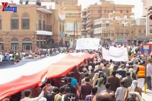 حملة 11 فبراير تخرج مسيرة حاشدة من ساحة التغيير بصنعاء تطالب باقالة و حاسبة حكومة الوفاق (157)