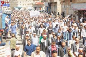 حملة 11 فبراير تخرج مسيرة حاشدة من ساحة التغيير بصنعاء تطالب باقالة و حاسبة حكومة الوفاق (159)