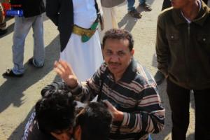 حملة 11 فبراير تخرج مسيرة حاشدة من ساحة التغيير بصنعاء تطالب باقالة و حاسبة حكومة الوفاق (16)