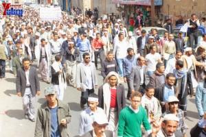 حملة 11 فبراير تخرج مسيرة حاشدة من ساحة التغيير بصنعاء تطالب باقالة و حاسبة حكومة الوفاق (162)
