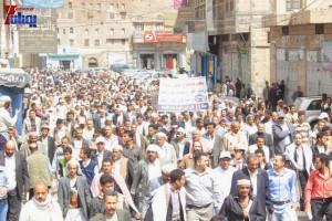 حملة 11 فبراير تخرج مسيرة حاشدة من ساحة التغيير بصنعاء تطالب باقالة و حاسبة حكومة الوفاق (163)