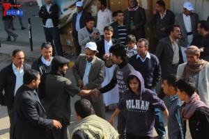 حملة 11 فبراير تخرج مسيرة حاشدة من ساحة التغيير بصنعاء تطالب باقالة و حاسبة حكومة الوفاق (17)
