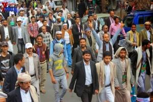 حملة 11 فبراير تخرج مسيرة حاشدة من ساحة التغيير بصنعاء تطالب باقالة و حاسبة حكومة الوفاق (173)